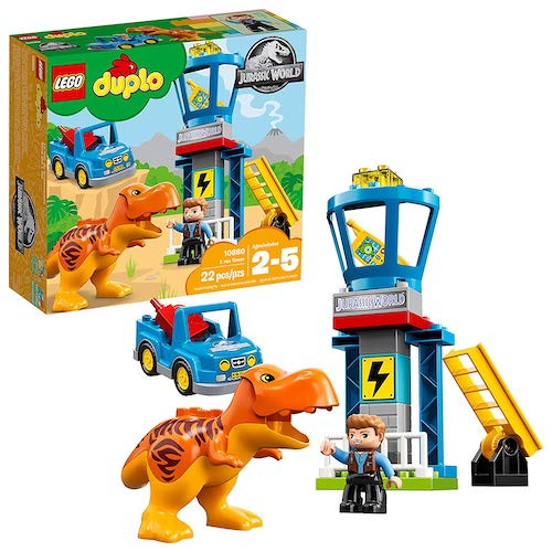 LEGO DUPLO Jurassic World T-Rex Tower