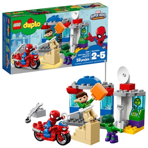 LEGO DUPLO Super Heroes Spider-Man & Hulk Adventures