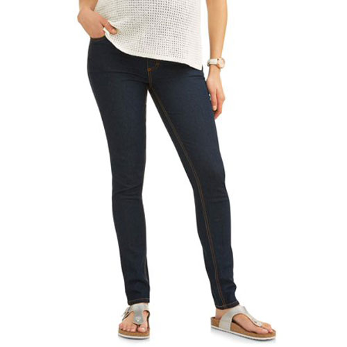 Oh! Mamma Full-Panel Super Soft Skinny Maternity Jeans