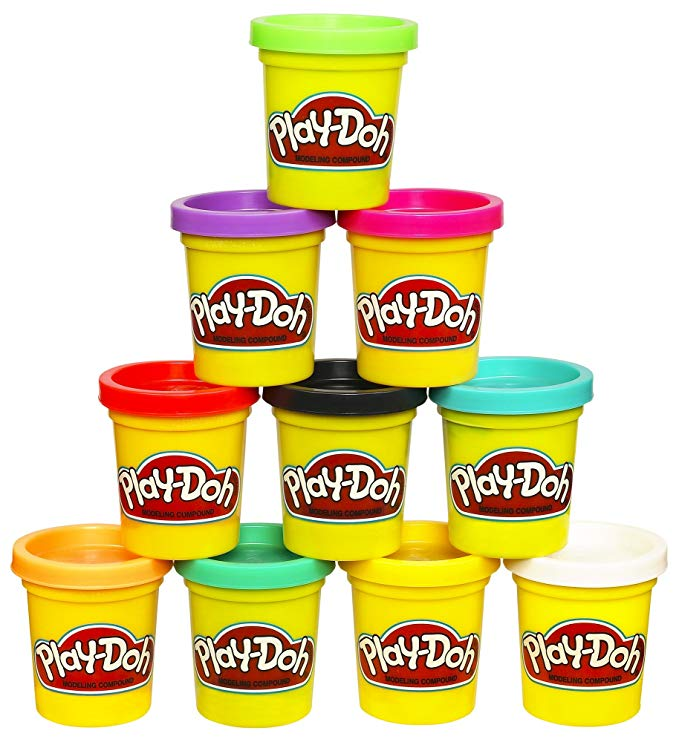 Play-Doh Modeling Compound 10-Pack Case