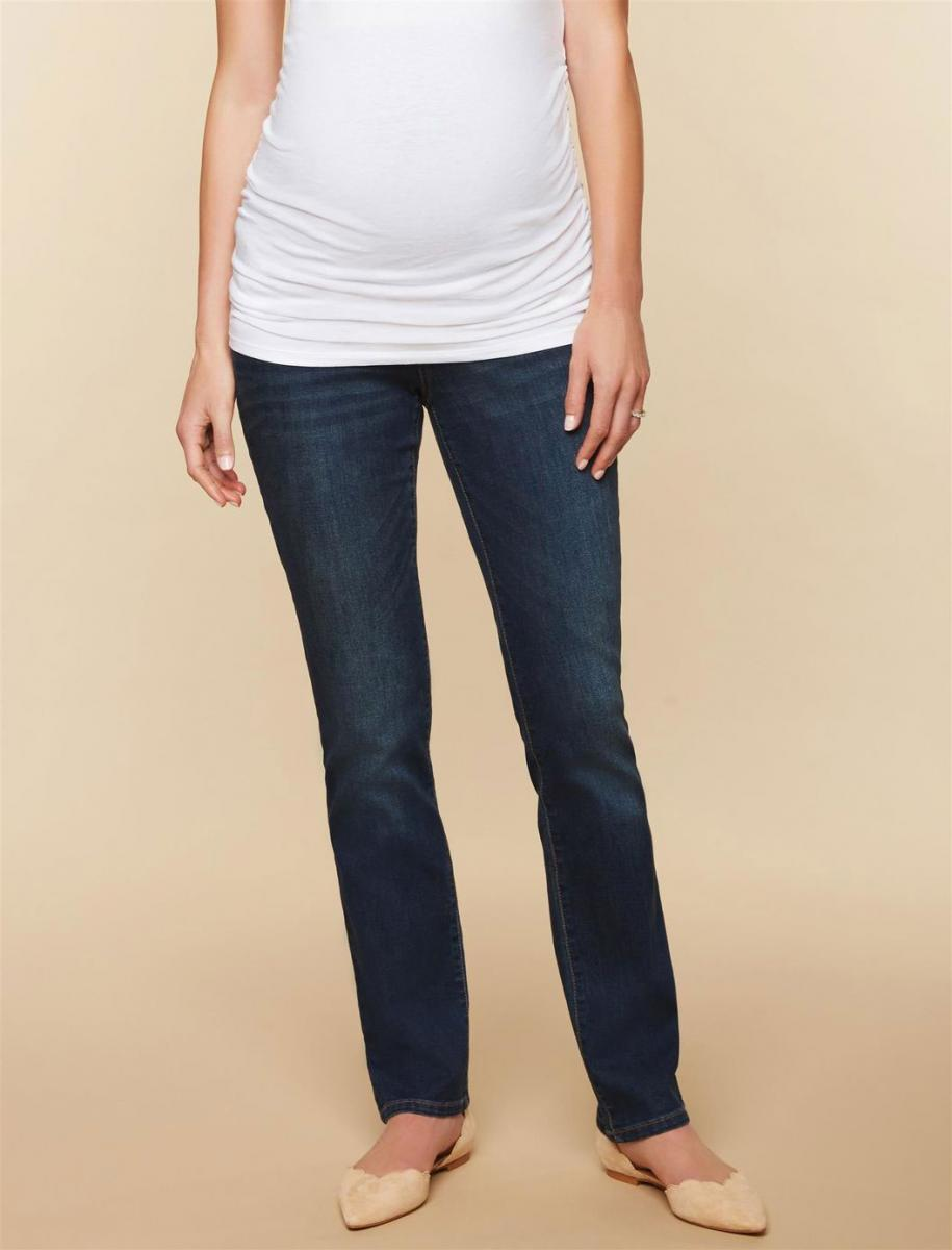 Tall Secret Fit Belly Stretch Straight Leg Maternity Jeans