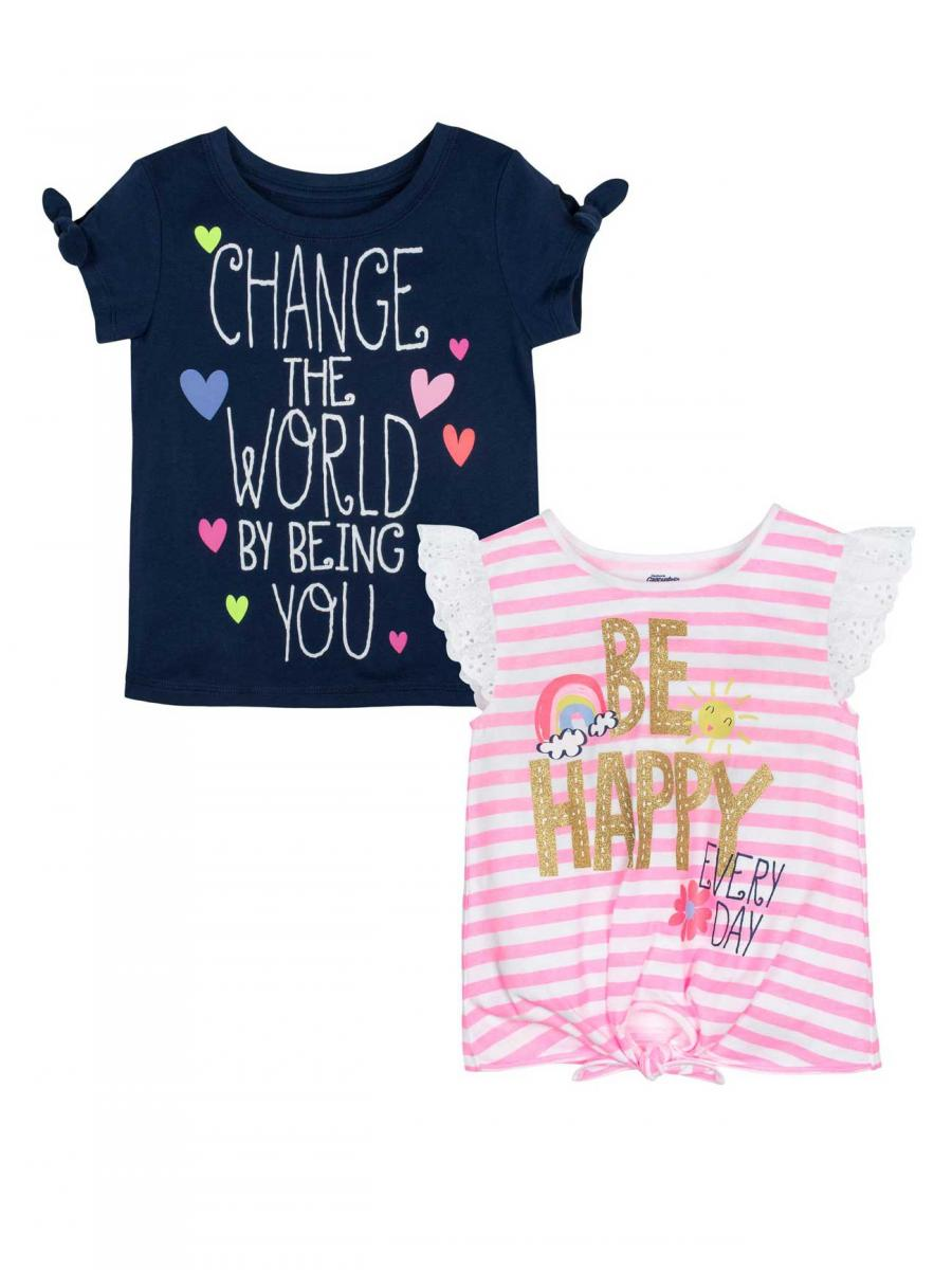 Gerber Change the World & Be Happy T-Shirts