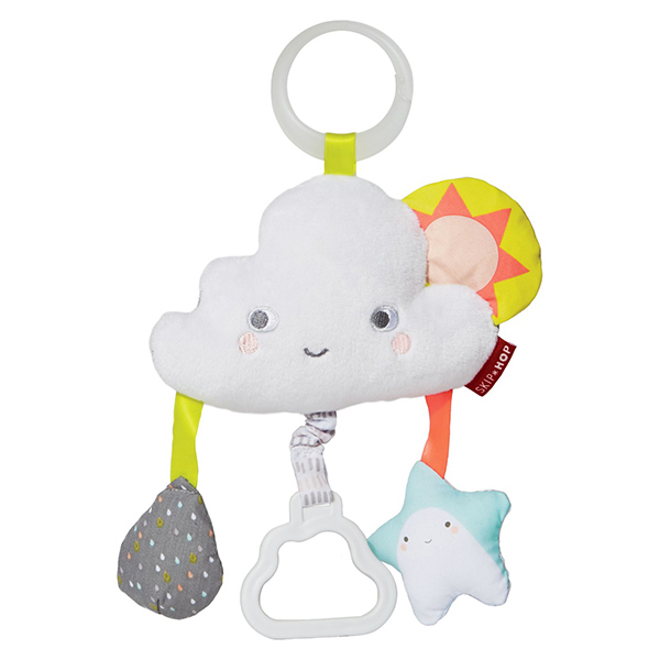 Skip Hop Silver Lining Cloud Jitter Activity Toy