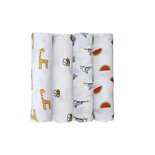 Mother's Lap Classic Swaddle Baby Blankets