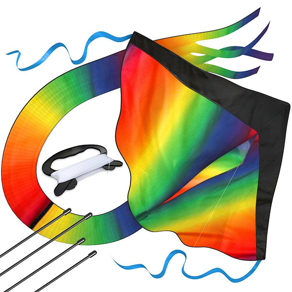aGreatLife Huge Rainbow Kite