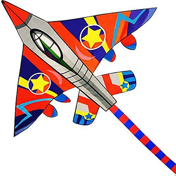 Fighter Plane Kite for Kids
