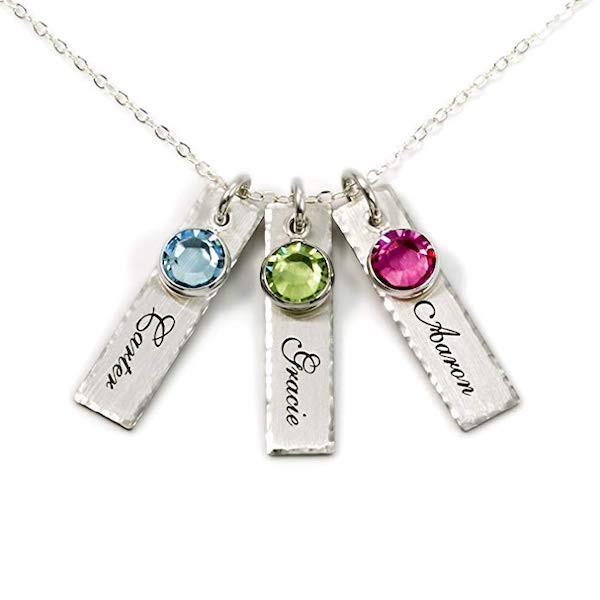 AJ's Collection Personalized Charm Necklace