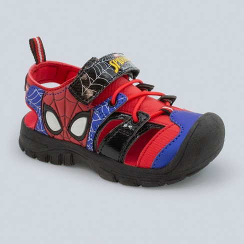 Toddler Boys' Marvel Spider-Man Light-Up Hiking Sandals