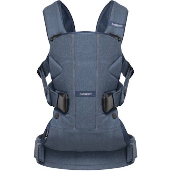 BabyBjörn Baby Carrier One in Classic Denim/Midnight Blue