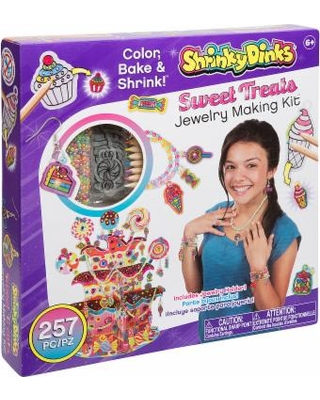 Shrinky Dinks So Sweet Treats Jewelry Kit, Girls