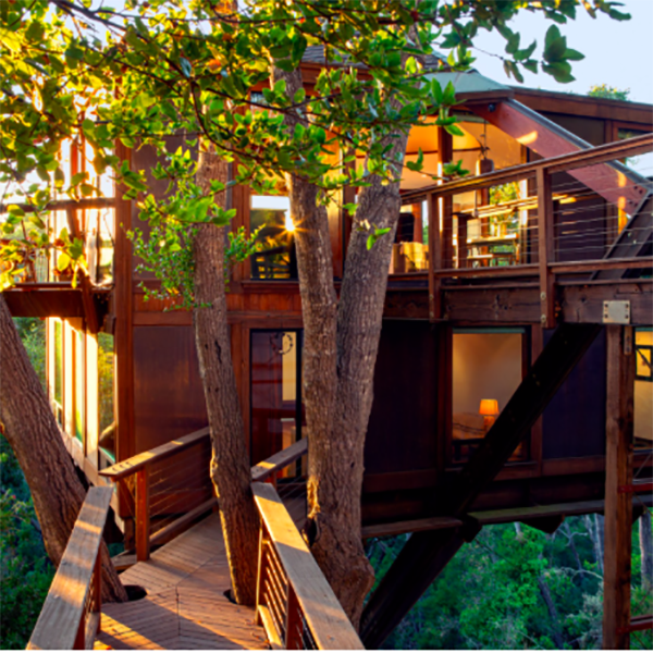 Treehouse with an Ocean View, Aptos, CA