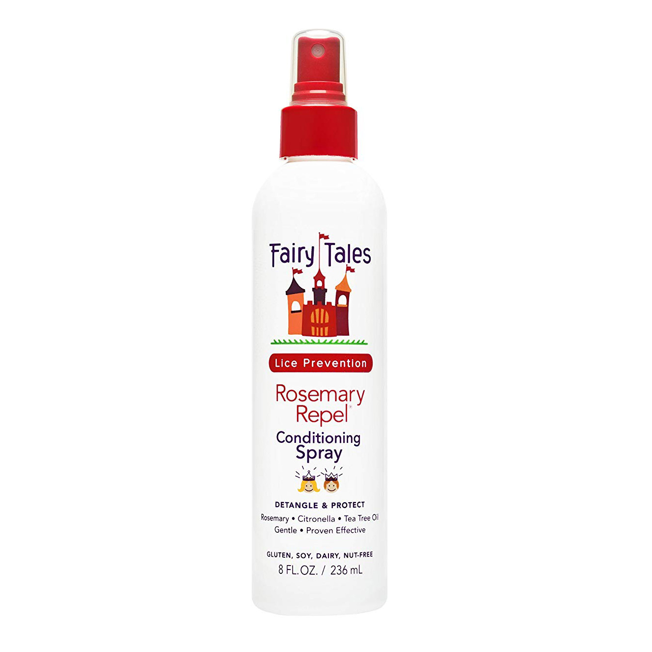 Fairy Tales Rosemary Repel Daily Kid Conditioning Spray for Lice Prevention