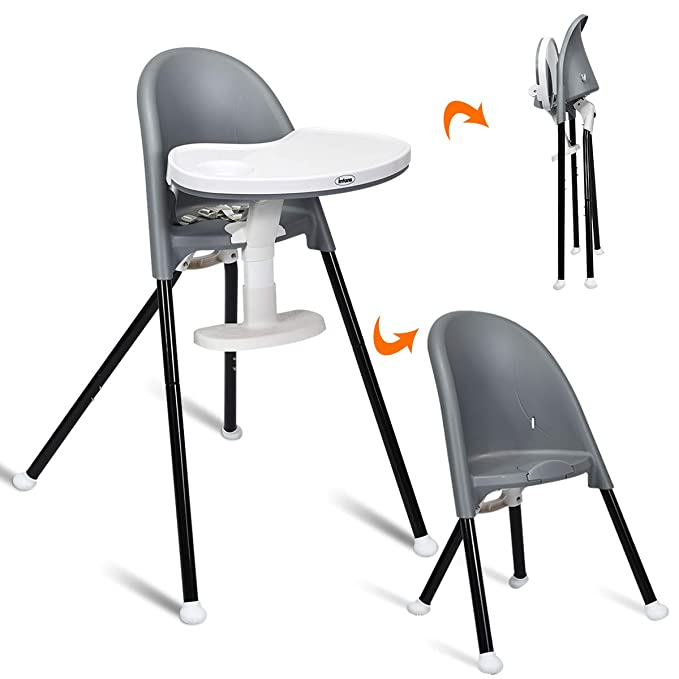 Infans Folding 3-in-1 Convertible Highchair
