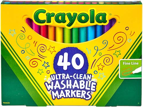 Crayola Ultra Clean Washable Fine Line Markers