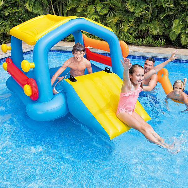 Intex Inflatable Island Slide