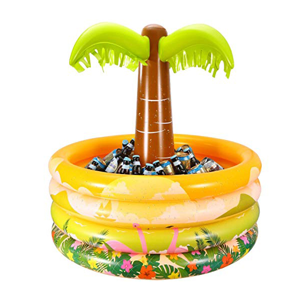 Inflatable Floating Palm Tree Cooler
