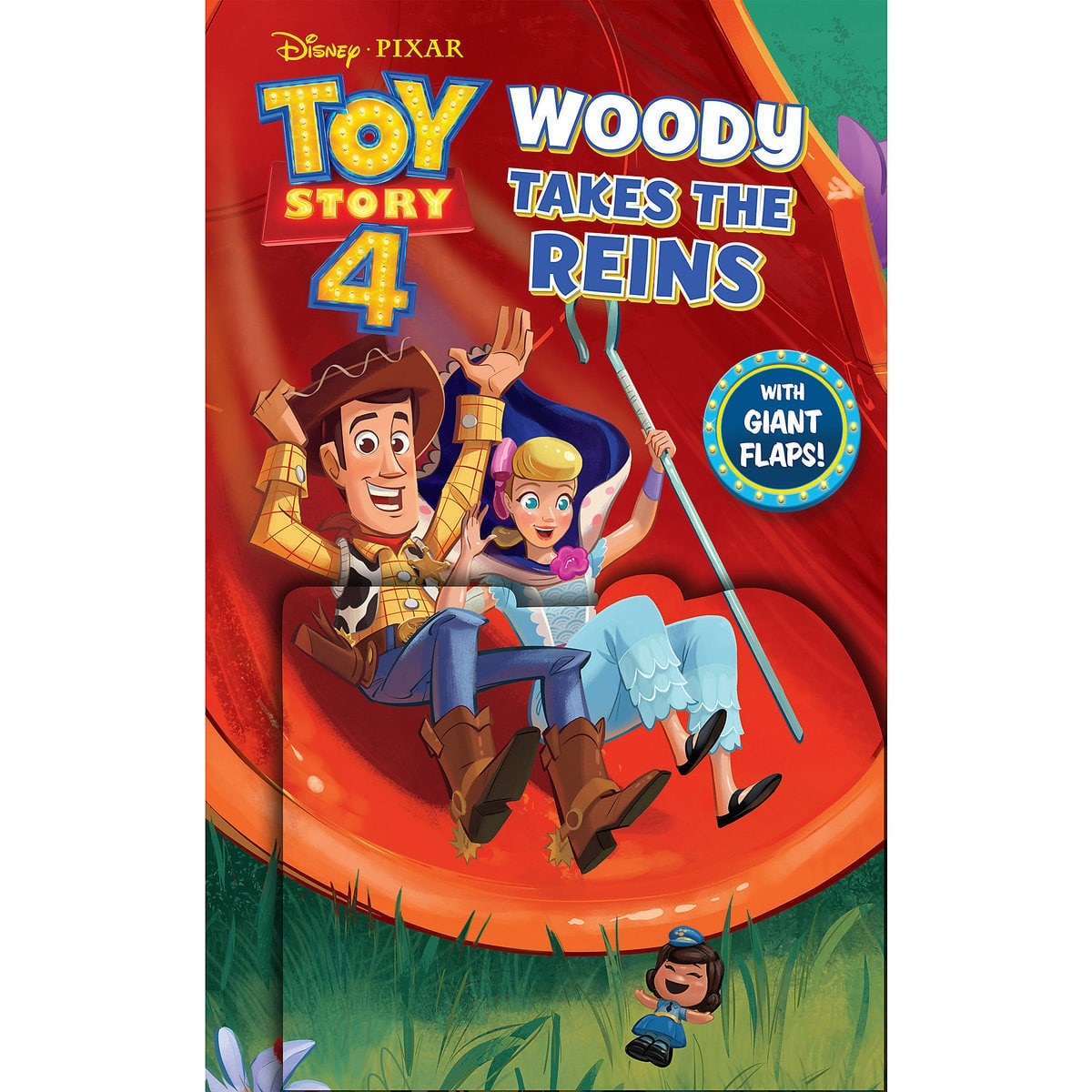Toy Story 4: Woody Takes the Reins Book