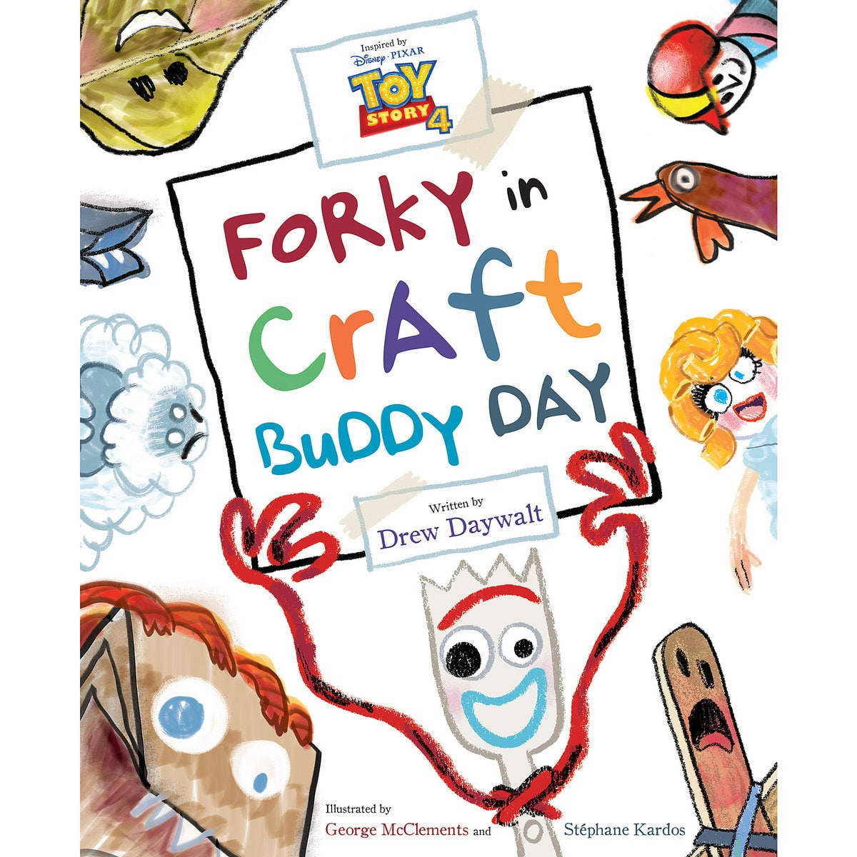 Toy Story 4: Forky in Craft Buddy Day Picture Book
