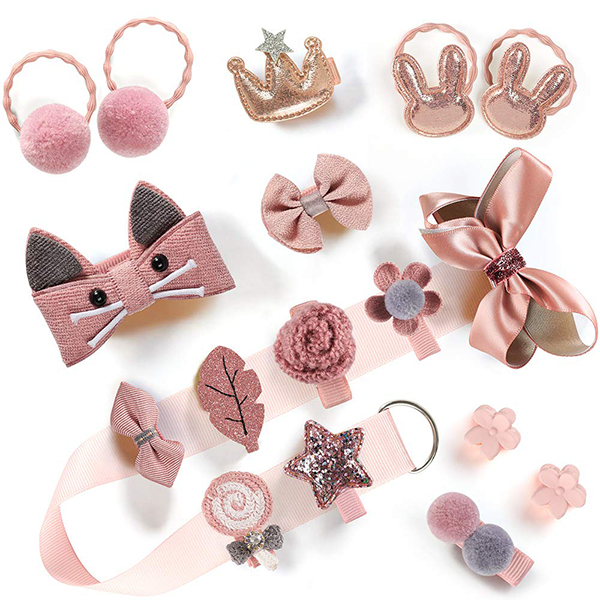 Baby Girl Hair Accessories Set