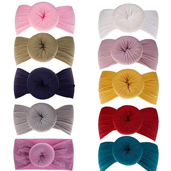 Baby Girl Knotted Headwraps