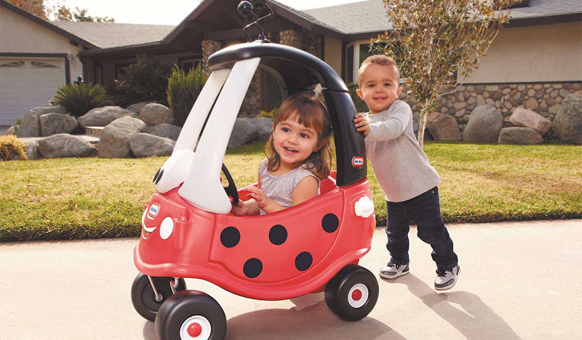 Get This Little Tikes Ladybug Cozy Coupe Ride-On Car During Amazon Prime Day