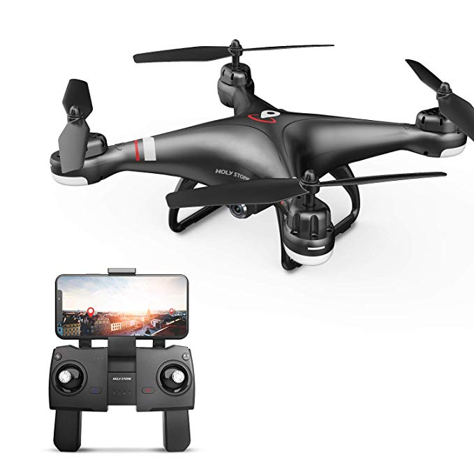 Get Your Amazon Prime Day 2019 Shopping Spree Off to a Flying Start With A Deal on This Holy Stone HS110G GPS Drone!