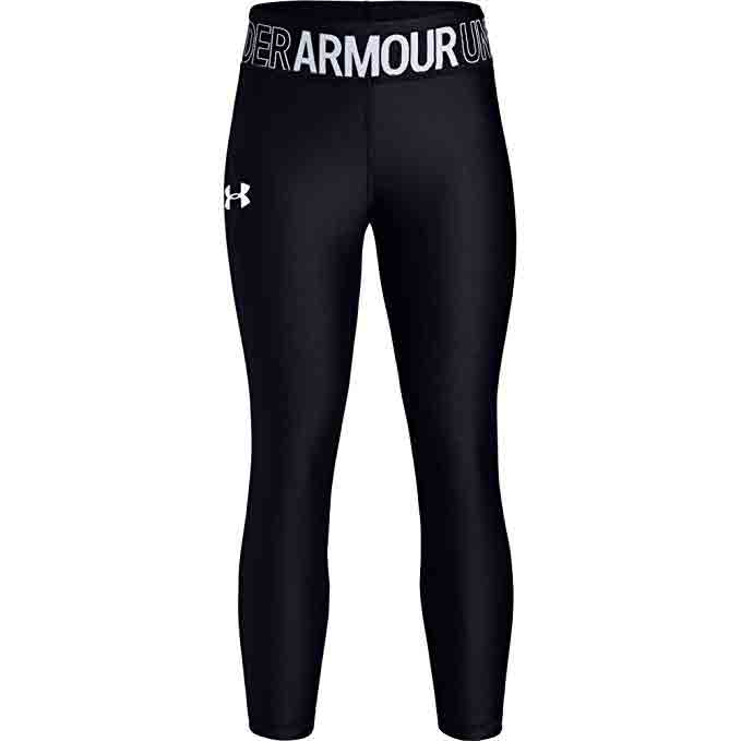 Under Armour Girls' HeatGear Armour Ankle Crop