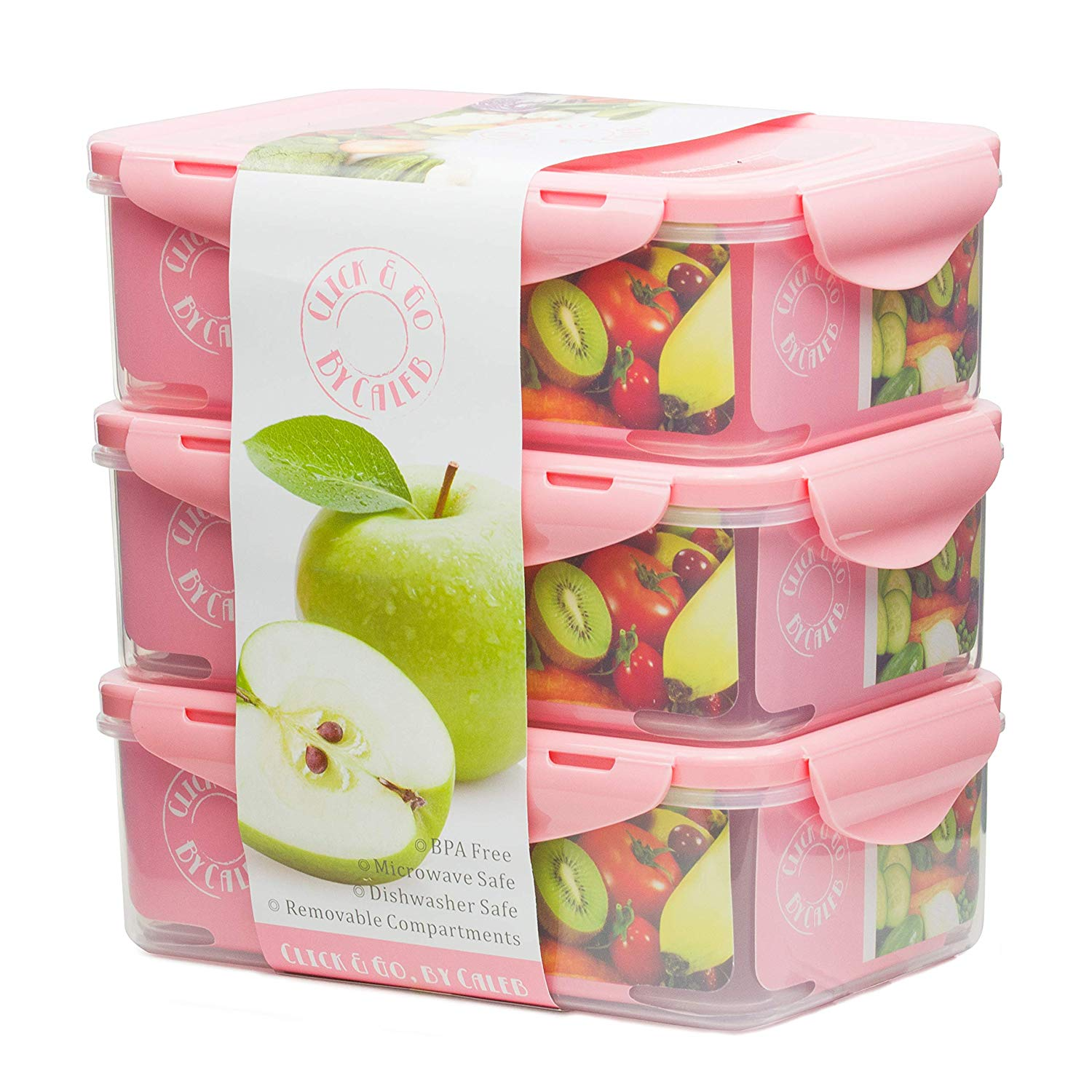 Bento Lunch Box Meal Prep Containers