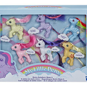 Amazon Is Selling Retro My Little Pony Set, And Our 8-Year-Old Selves Can't Take It