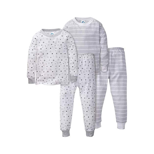 Gerber Organic Cotton Mix-n-Match Four-Piece Pajama Set