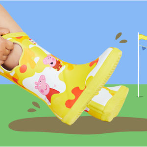 These Hunter X Peppa Pig Boots Are Perfect for Jumping in Muddy