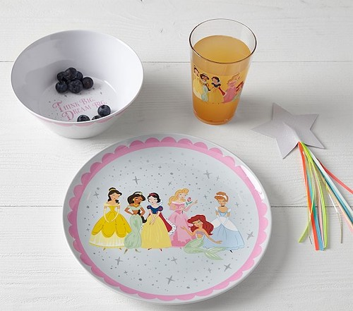 Pottery Barn Kids Disney Princess Tabletop Gift Set