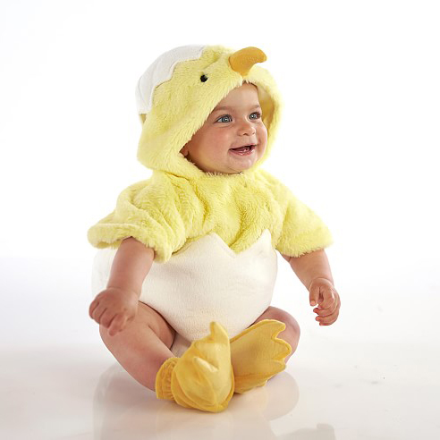 Baby Egg Chick Costume