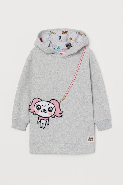 Toca Life x H&M Hooded Top with Appliqués
