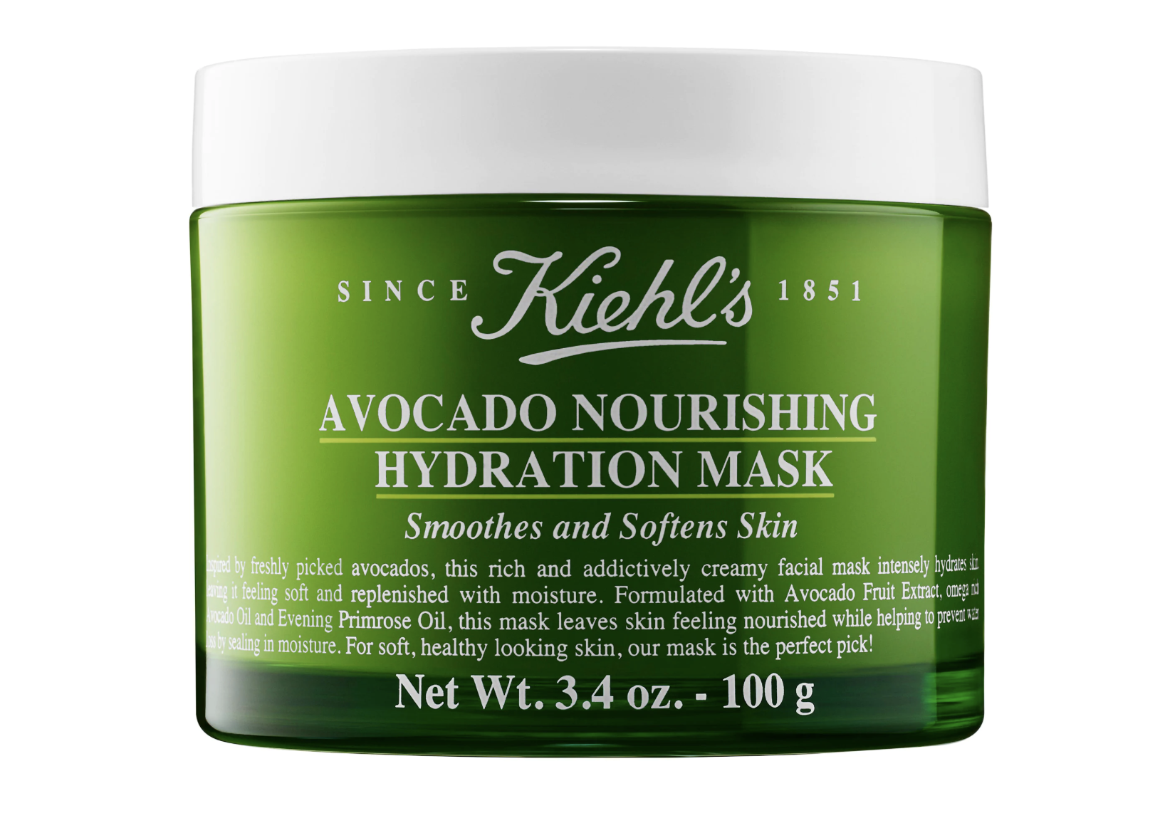Our Similar Pick: Kiehl's Avocado Nourishing Hydration Mask