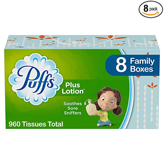 Our Similar Pick: Puffs Plus Lotion Facial Tissues, Pack of 8