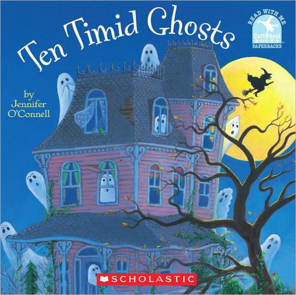 Ten Timid Ghosts by Jennifer O'Connell