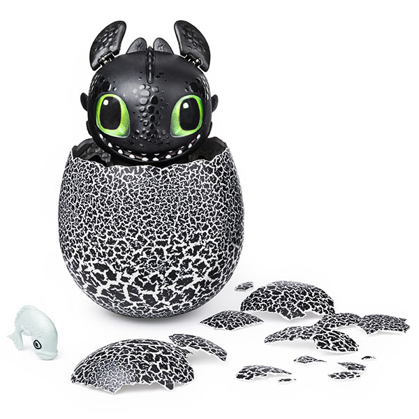 DreamWorks Dragons Hatching Toothless Interactive Baby Dragon