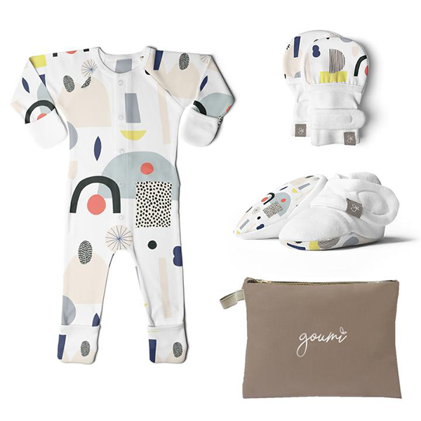 goumi x Kate Pugsley Mitts, Boots and Footie Bundle