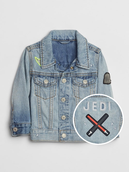 Baby Gap Star Wars Icon Denim Jacket