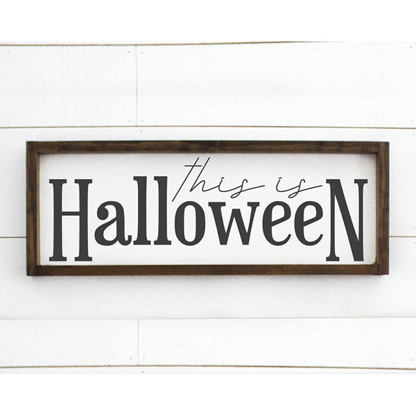 'This Is Halloween' Sign