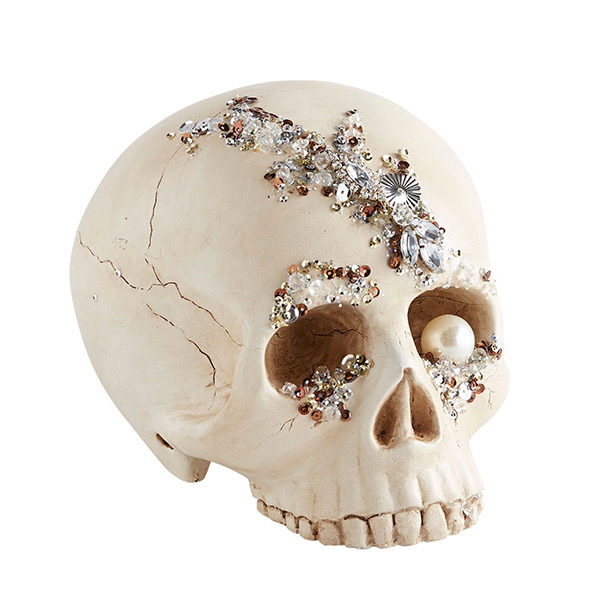 Pier 1 Bejeweled Skull Decor