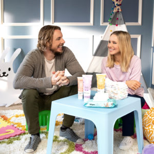 Shop Kristen Bell and Dax Shepard's Hello Bello Line at Walmart for