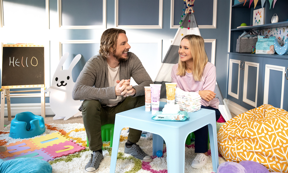 Shop Kristin Bell and Dax Shepard's Hello Bello Line at Walmart for the Best Sustainable Products for Baby