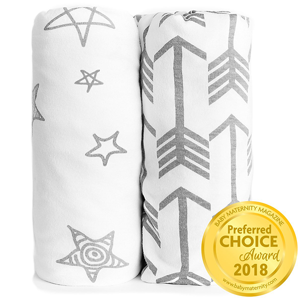 Kids N' Such Fitted Crib Sheet 2-Pack