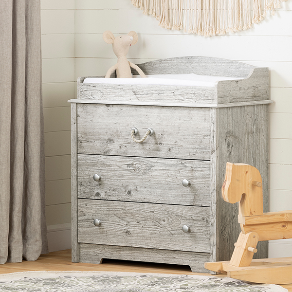 South Shore Aviron Changing Table with Drawers