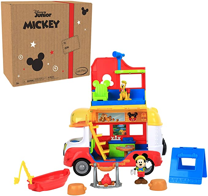 Disney Junior Mickey Mouse Outdoor and Explore Camper