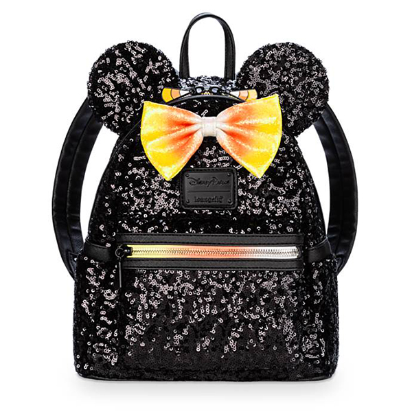 Minnie Mouse Sequin Mini Candy Corn Backpack