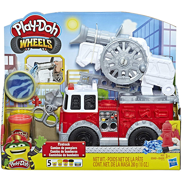 Play-Doh Wheels Fire Truck Toy and Play-Doh