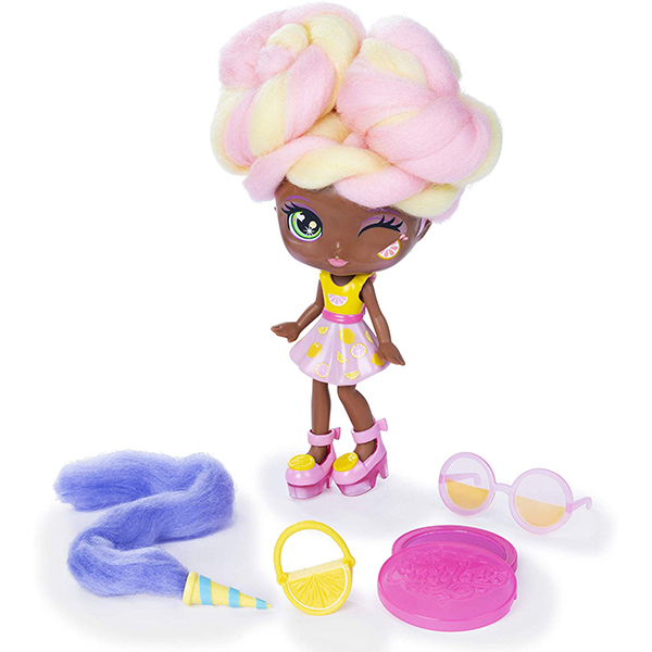 Candylocks 7-Inch Lacey Lemonade, Sugar Style Deluxe Scented Collectible Doll